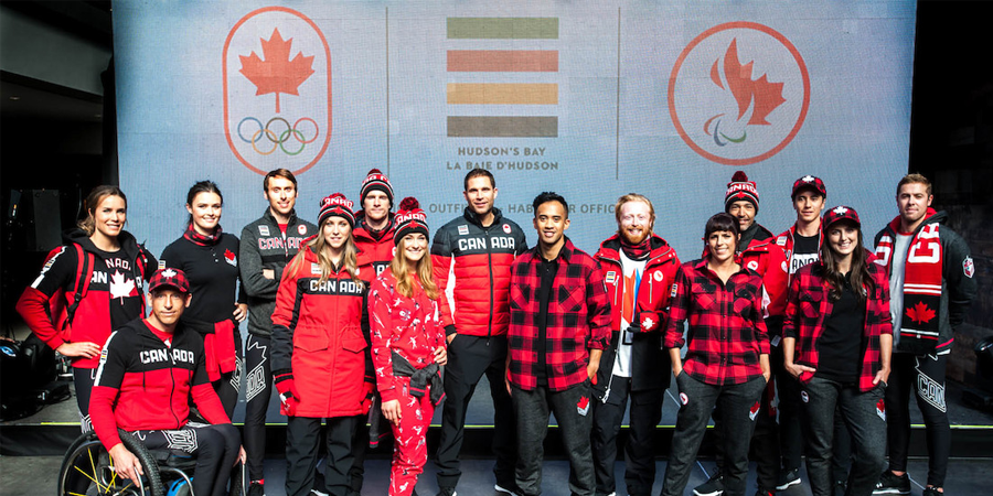 Hudson's Bay Launches Team Canada Collection For PyeongChang 2018