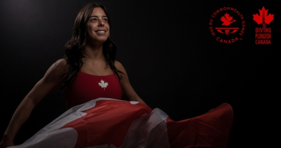Two-Time Commonwealth Gold Medalist Meaghan Benfeito Named Canadian Team Flagbearer in Gold Coast!