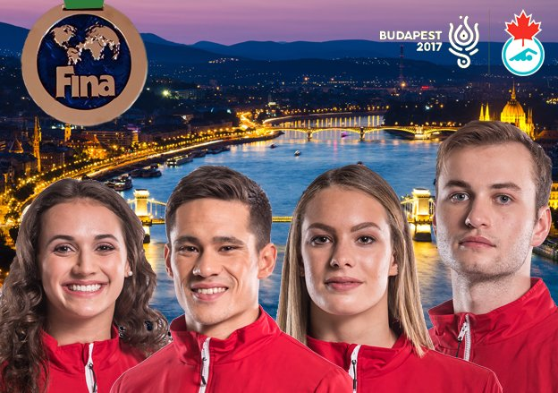 Bronze medal, Canadian record for mixed medley relay