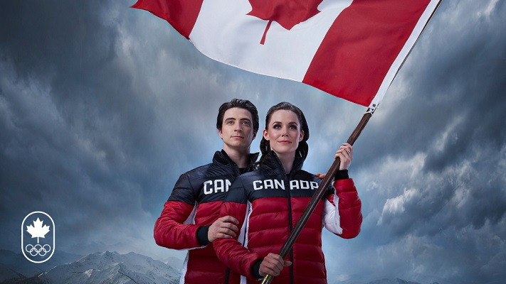 Tessa Virtue and Scott Moir named Team Canada's PyeongChang 2018 flag bearers