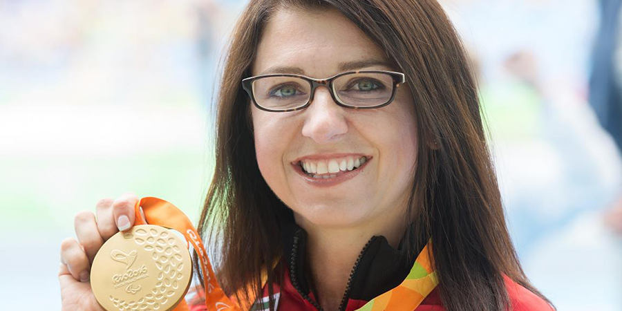 Michelle Stilwell Still Golden At Paralympic Games