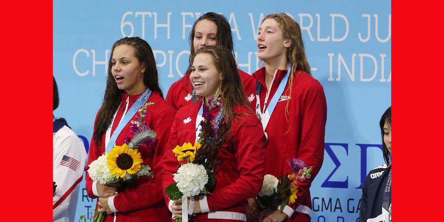 Women Complete Relay Sweep, Cap Off Historic World Juniors