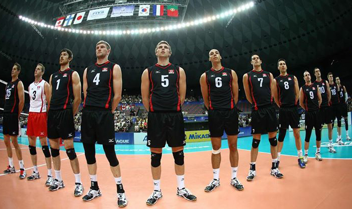 What Shoes Do The Us Men S Volleyball Team Wear