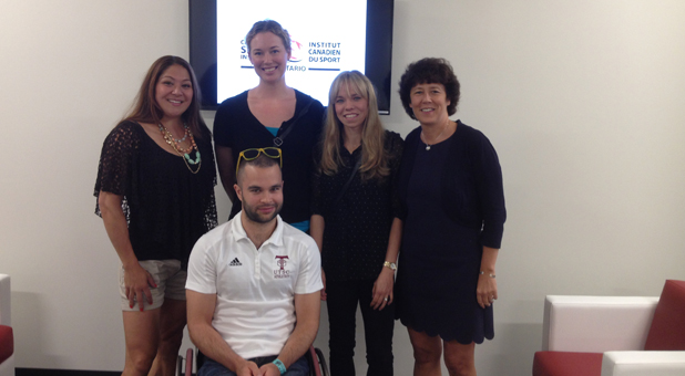 Olympic & Paralympic Athletes Visit New CSIO Facility And Share Insights With Staff