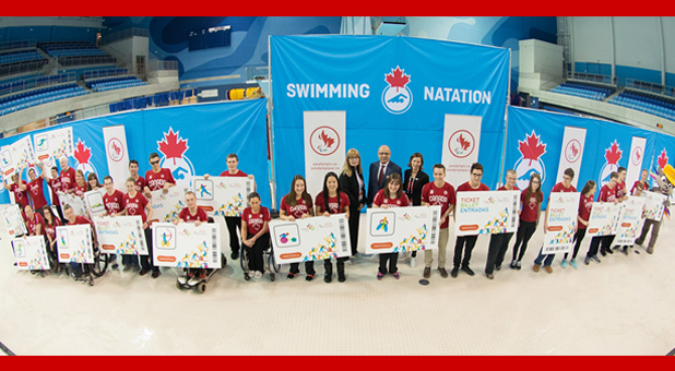 High-Powered Lineup Of Swimmers Nominated To Toronto 2015 Parapan Am Games Team