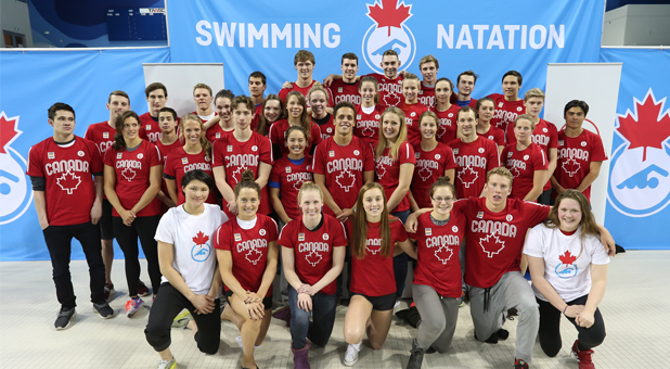 Canadian Swimming Team Nominated For TORONTO 2015 Pan Am Games