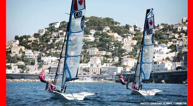 Canadian Sailing Team Nominated For TORONTO 2015 Pan Am Games