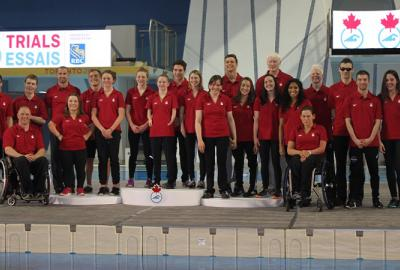 Swimmers meeting the criteria to be nominated to the Canadian Paralympic Team