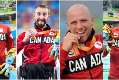 Rivard Gold And World Record Caps Four-Medal Day For Canada