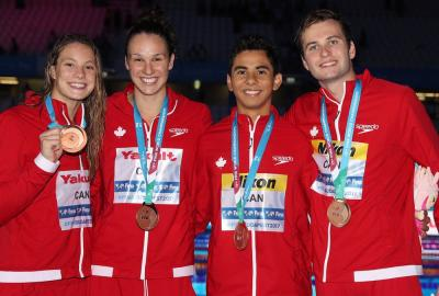 Mixed free relay earns third medal for Canada
