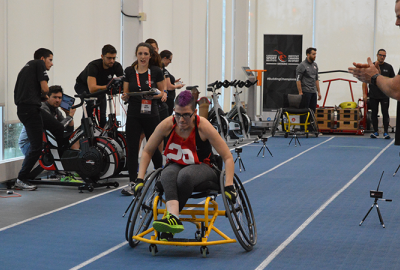 Participants Dare To Dream At PARALYMPIAN SEARCH