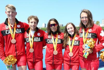Canadian Rowers Capture Historic Bronze In Rio