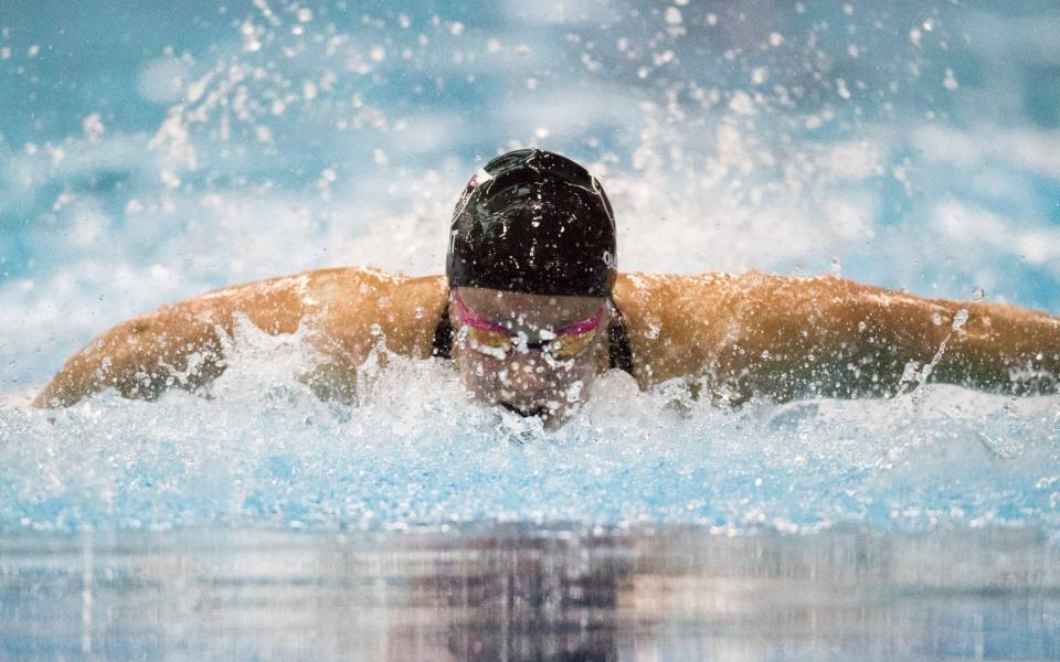 Silver, Canadian record for Oleksiak