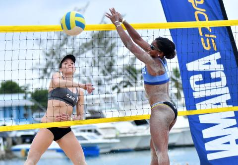 Canadians Broder & Bukovec winners at NORCECA stop in Ocho Rios